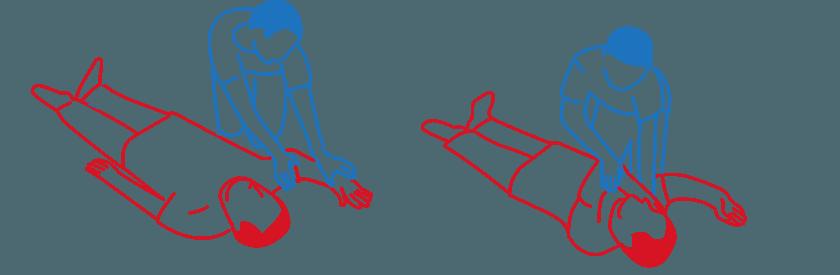 Stabile Seitenlage 01 & 02